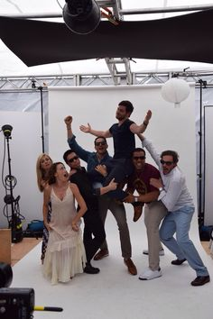 The cast of Grimm at San Diego ComicCon 2015