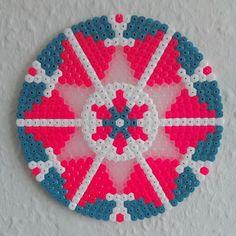 Mandala hama perler beads by dudditsness