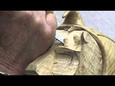 Woodcarving Lessons with Ian Norbury - 03 - Refining the Shapes of the F...