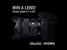 Help me Win a Sigma 24mm f/1.4 lens thanks to @Shotkit & @Sigma