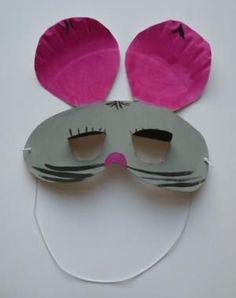 bastelsachen/basteln-Maske-Maus-Pappteller