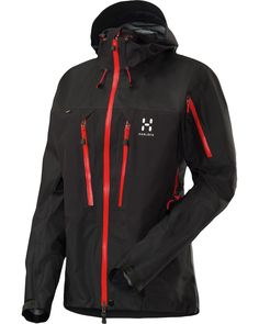 Haglöfs Spitz II Jacket! 3 Layer gore-tex Pro! I have it with yellow zippers.