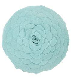 Rosalina Duck Egg Cushion - 30cm diameter - Cushions