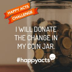 Perform to make someone's day a little brighter. Join Live Happy and help make the world a happier place Happy National Day, International Day Of Happiness, Live Happy, Challenge Me, Girl Scouts, You Changed, Jesus Christ, Wish, Acting