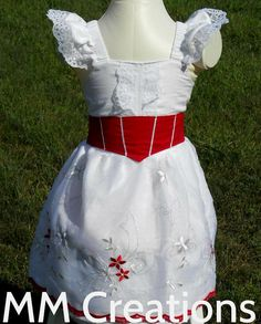 Mary Poppins Jolly Holiday dress in girls size 2 by CreationsofMM, $70.00