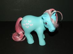 My Little Pony Vintage G1 Bow Tie (Earth Ponies) [2a] #Hasbro