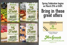 ChiIL Mama: Celebrate Spring With Mrs. Greens #GreenIsGood #Coupon #EcoFriendly #ad