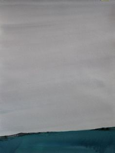 Koen Lybaert - Borgholm - watercolor on paper [40 x 30] / 2014 - [price 160 euro, shipment include]