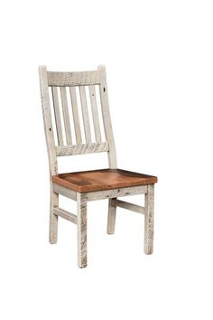 Amish Reclaimed Wood Farmhouse Chair