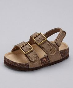 Look what I found on #zulily! Gray Duke Sandal by OshKosh B'gosh #zulilyfinds