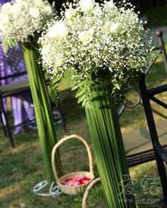 Aisle flowers camilla lyle
