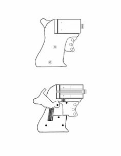 .22 Pepperbox revolver - homemade gun plans (Professor Parabellum)