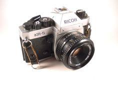 Ricoh Vintage Camera KR-5 35MM  SLR by MissPattisAttic on Etsy