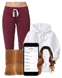 Untitled #2302 by alisha-caprise ❤ liked on Polyvore featuring LA: Hearts, Old Navy and UGG Australia