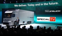 Presentation of Mercedes-Benz on the IAA 2016 Hannover  #MercedesBenz #MB #IAA #Hannover #Trucks #Transport #eTruck #Urban #Commercial #Vehicles