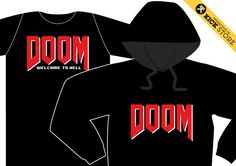 DOOM! 1993 science fiction horror-themed role-playing first-person shooter video game!! Just for freaks! TS/LS Comin' Soon by @KICK AGENCY su KICK STORE - pre order: store@kickagency.com