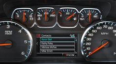A standard color Driver Information Center keeps connections in sight and hands on the wheel. See us at Ontario Motor Sales. Call us at 2015 Chevy Tahoe, 2015 Tahoe, Chevrolet Tahoe, My Dream Car, Dream Cars, Family Suv, Large Suv, Information Center, General Motors