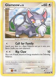 glameow pokemon card
