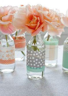 decoración botellas de vidrio 12
