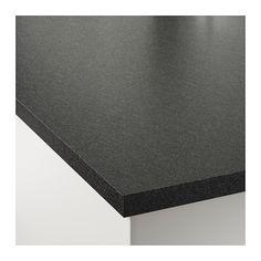 Ekbacken blat czarny imitacja kamienia czarny imitacja for Ikea ekbacken countertop