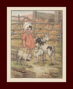 illustration by C M Burd, 1936 | eBay
