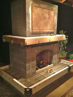 Outdoor fireplace kits home depot home kits outdoor fireplace