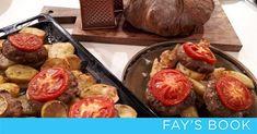 Δείτε πως θα φτιάξετε το σούπερ αυτό φαγητό! … Minced Meat Recipe, Mince Meat, Meat Recipes, Baked Potato, Sausage, Beef, Baking, Ethnic Recipes, Food