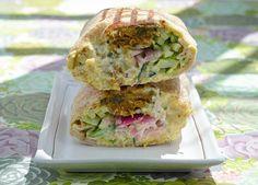 Mendocino Farms - Falafel Wrap