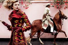 Chalan y caballo de paso