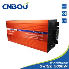 #Pure_sine_wave_power_inverter   http://www.cnbou.com/pure-sine-wave-inverter-with-switch/3000-watt-power-inverter.html      Modified sine wave is relative to the sine wave is concerned, and now the mainstream of the inverter output waveform, is modified sine wave.