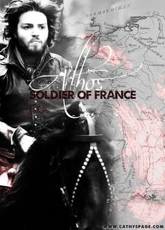 Athos - Soldier of France graphic by me (cathelms).
