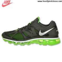 Cheap Mens Nike Air Max 2012 Sequoia Volt Running Shoes Sports Shoes Shop