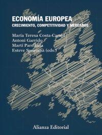 """""""Economía europea"""" Fruto de la colaboración de un grupo de prestigiosos economistas, el presente libro aborda los aspectos económicos más relevantes de los países europeos. El lector encontrará en él un sólido análisis de cómo han evolucionado en las últimas décadas y las causas y el tratamiento de la crisis económica.  Signatura: 338 ECO"""