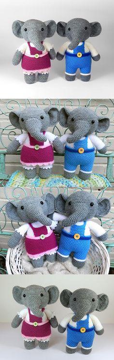 Eleanor and Elijah elephant