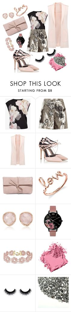 """""""Romantic night!"""" by oropeza-lo-angelica on Polyvore featuring beauty, Ted Baker, River Island, Rebecca Minkoff, Fratelli Karida, LULUS, Sydney Evan, Monica Vinader, Olivia Burton and BaubleBar"""