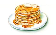 Doodlewash® ~ Maple Syrup & Pancakes