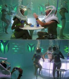 World's First Underwater Nightclub