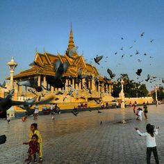 Phnom Penh Royal Palace, South Cambodia