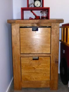 mini dumpster dresser | Do It Yourself Home Projects from Ana White