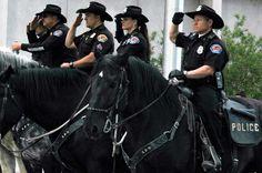 Albuquerque police mounted squad