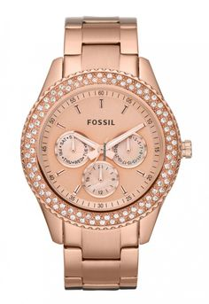 Fossil Ladies´ Multifunction Watch Stella $180 #Fossil #watch #watches #chronograph