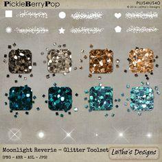 Moonlight Reverie - Glitter Toolset By Laitha's Designs