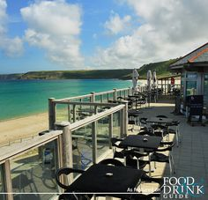 Beach Restaurant in Cornwall near Penzance boasts breathtaking, uninterrupted panoramic views of the expansive white sands and turquoise waters of Sennen Cove http://www.foodanddrinkguides.co.uk/nr-penzance/beach-restaurant/restaurant/11859 #dinecornwall #beachview