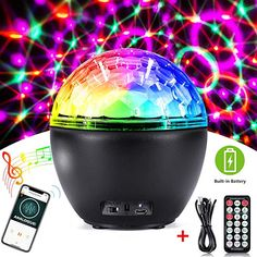Bluetooth Disco Light,CrazyFire Party Light with Remote Light Modes Strobe Lights for Parties,Holidays,Weeding and Kids' Room(Built in Battery) Disco Party Lights, Clean Tile Grout, Bluetooth Remote, Tree Wall Decor, Stage Lighting, Disco Ball, Strobing, Best Part Of Me, Kids Room