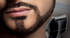 beard closeup