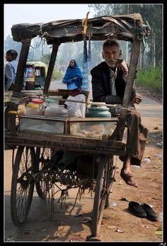 Inde - Vendeur ambulant extrait de mon fil Incredible India 90 pages de couleurs et d'émotions