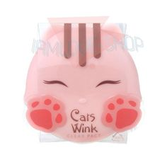 [TONYMOLY] Cats Wink Clear Pact 11g #1 Clear Skin Sebum Control Mild Powder