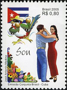 Stamp-Number-2967 - Son and Samba  #stamp #brasil #samba