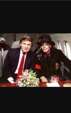[• MJ & Donald Trump •]