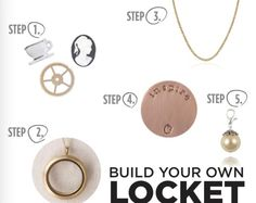 Hot to make a locket!! Please Follow Me!! ❤️ ❤️